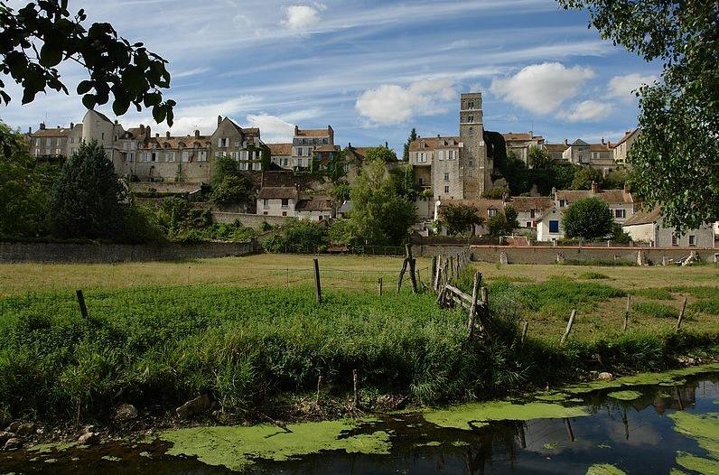 Promenade dans le g tinais vers 1895 par alexis martin for Chateau landon piscine